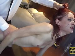 PASCALSSUBSLUTS - Redhead Andi Rye Auditions To Serve Master