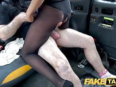 Fake Taxi, Backseat anal fuck and big facial for hot British girl