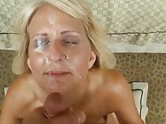 GILF Facials & Cumshots Compilation